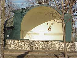 East Park Band Shell