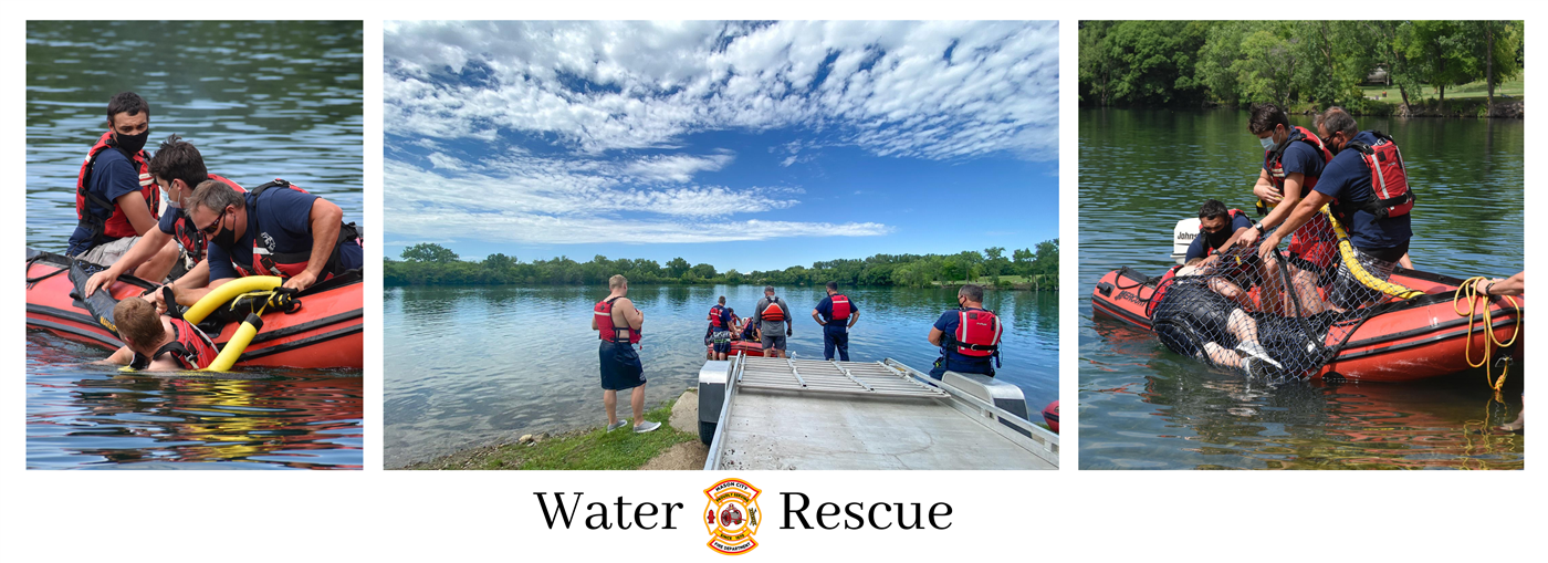 Water Rescue Banner