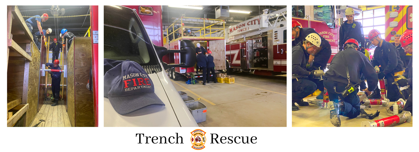 Trench Rescue Banner