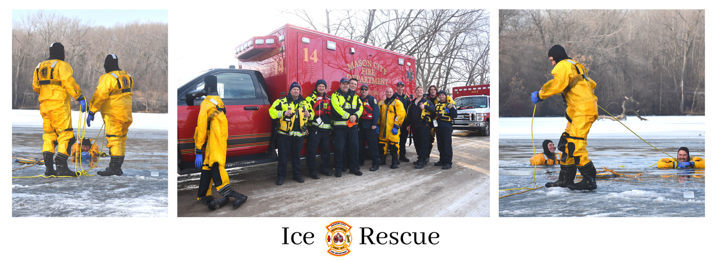 Ice Rescue Banner