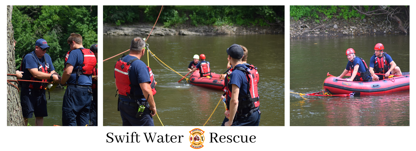 Swift Water Rescue Banner
